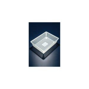 Panier égouttoir PP blanc 10 L ( L x l x h ) 400x300x100 mm