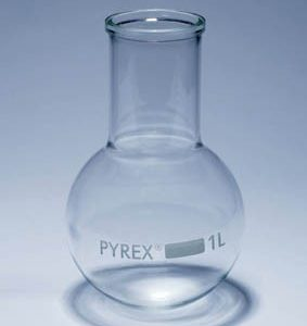Ballon fond rond col large PYREX®