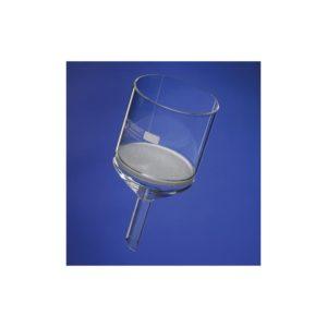 Entonnoir filtrant cylindrique borosilicaté 3.3